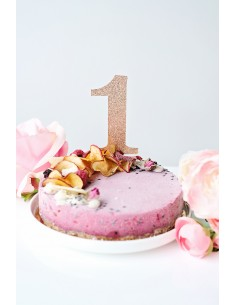 Number – cake topper